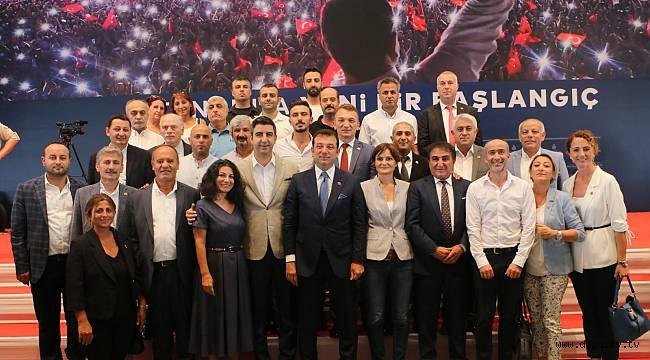 Başkan Gökhan Yüksel ve CHP Kartal İlçe Yönetimi, İBB Başkanı Ekrem İmamoğlu ile buluştu
