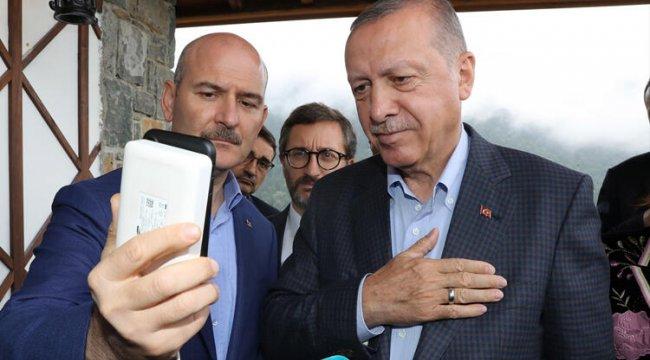 Cumhurbaşkanı Erdoğan, Hacire Akar ile telefonda görüştü