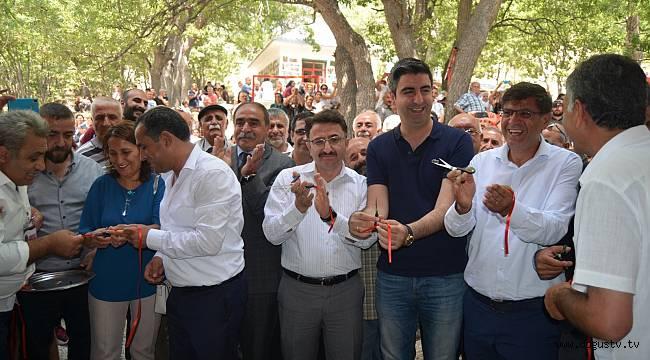Dervişcemal Cem ve Kültürevinin Açılışına Kartal Belediye Başkanı Gökhan Yüksel Katıldı