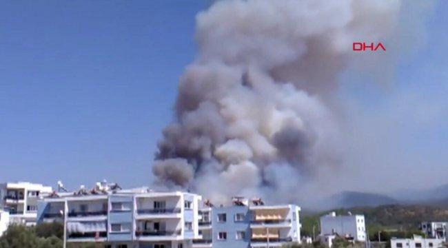 Son dakika... Muğla'dan art arda yangın haberleri