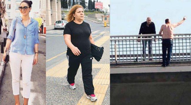 Köprüde intihar eden adama 'atla' diyen kadınlar hakkında karar