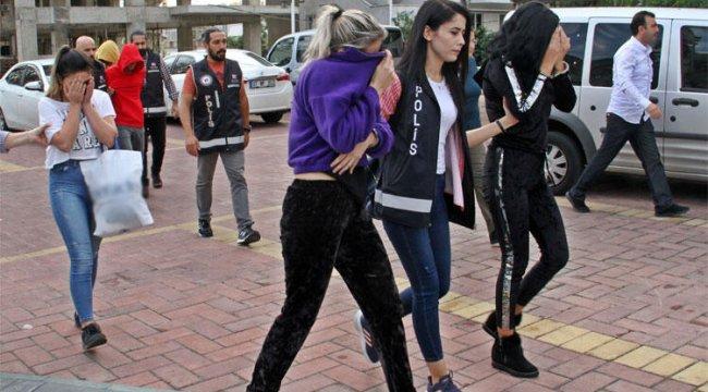 Antalya'da fuhuş çetesi operasyonunda 6 tutuklama