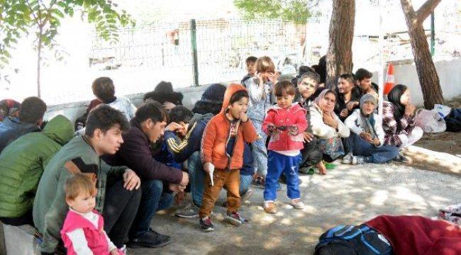 Çanakkale'de 190 göçmen yakalandı