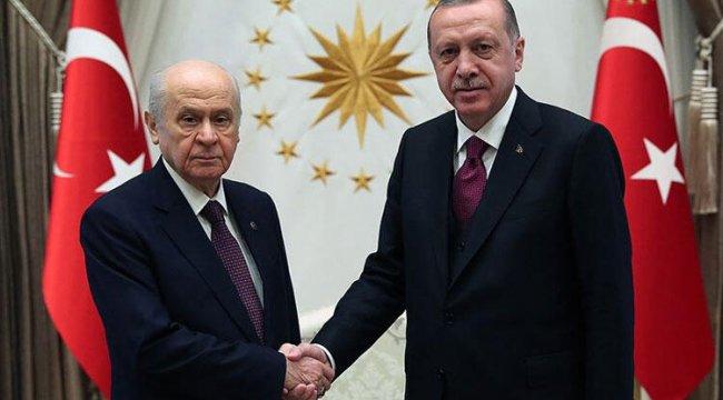 Cumhurbaşkanı Erdoğan'dan Bahçeli'ye 'geçmiş olsun' ziyareti