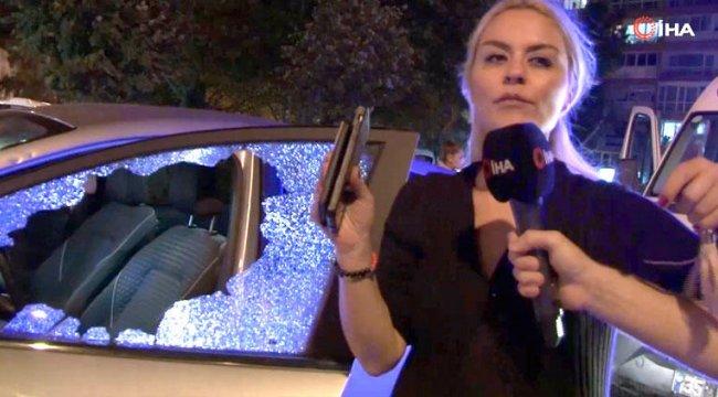 Dehşeti yaşadılar! 'Kadın sürücü levyeyle saldırdı' iddiası