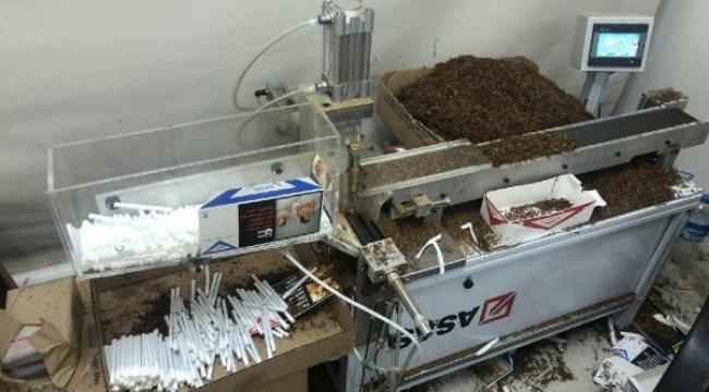 İstanbul'da büyük operasyon! 24 bin 600 kaçak puro ele geçirildi