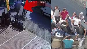 Maltepe'deki kaza kamerada