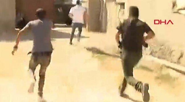 Son dakika: Akçakale'de sivillere saldırı! Gazetecilerin kaldığı otelin yakınına havan mermisi atıldı