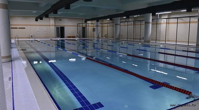 Pendik Belediyesinin 3. yüzme havuzu hizmete giriyor