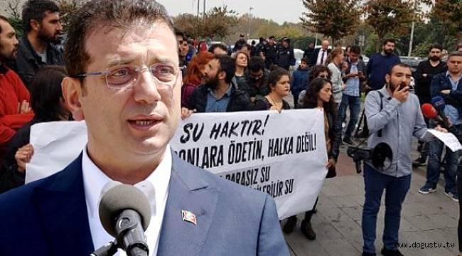 Seçimde İmamoğlu'nu desteklemişlerdi! Şimdi ise protesto ediyorlar