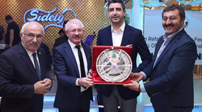 Başkan Yüksel, Erzincan Refahiye Dernekler Federasyonu Yemeğine Katıldı