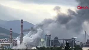 Son dakika haberi: Hatay'daki fabrikada korkutan patlama! Dumanlar yükseliyor...
