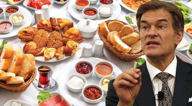 Doktor Mehmet Öz'den ezber bozan açıklama... Kahvaltı savaşları