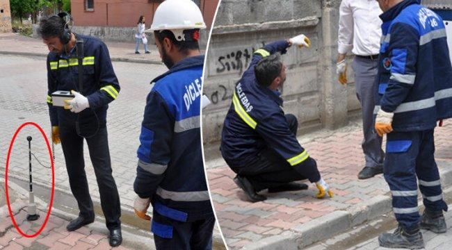 Elektrik kesintisini araştıran ekipler şaşkına döndü