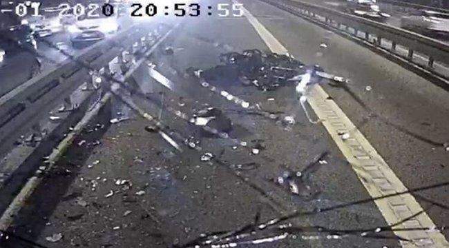 Motosikletle çarpışan metrobüs sürücüsü adli kontrolle serbest bırakıldı