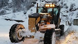 Rize'de 56 köy yolu ulaşıma kapalı