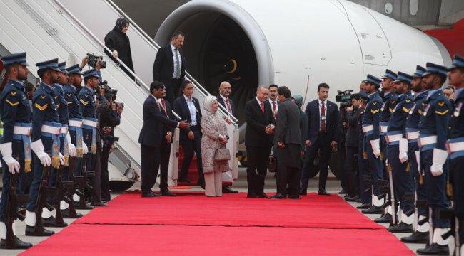 CumhurbaşkanıErdoğanPakistan'da