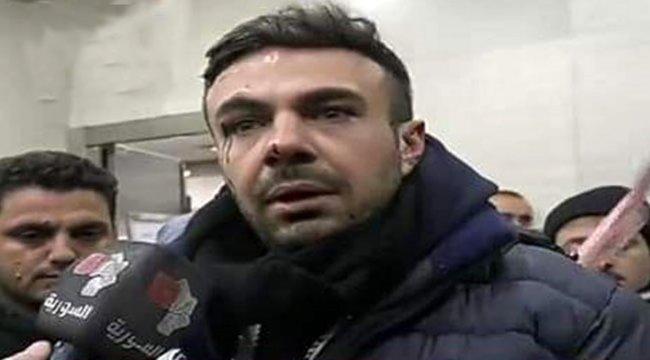 Türk askerine hakaret eden Esed rejimi muhabiri Shadi Helwa'nın aracı füzeyle vuruldu