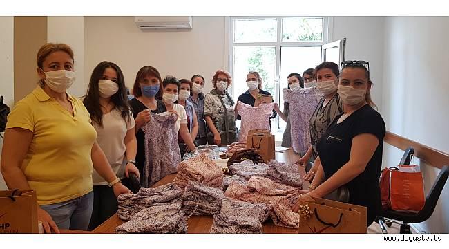 CHP Kartal Kadın Kolları Ramazan bayramında çocukları sevindirdi