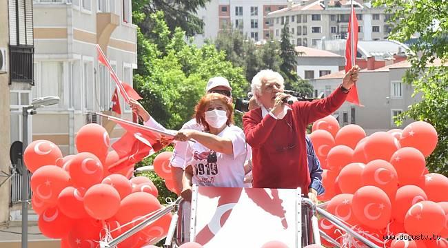 MİLLİ MÜCADELE KARARININ ALINDIĞI ŞİŞLİ'DE 19 MAYIS COŞKU İLE KUTLANDI