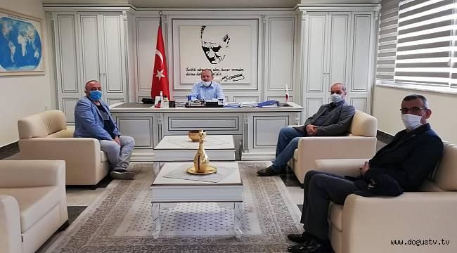 ŞEHİT ve GAZİLERDEN KARTAL KAYMAKAMI ABDULLAH DEMİR'E TEŞEKKÜR ZİYARETİ...