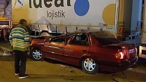 Köpeğe çarpmamak için ani manevra yapan CHP'li eski il başkanı ölümden döndü