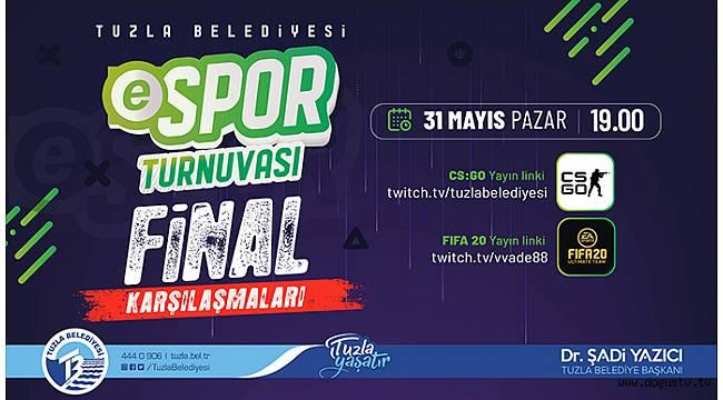 Tuzla'da E-spor Kupa Heyecanı
