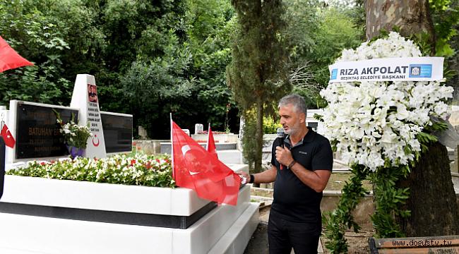 15 Temmuz Şehitleri Beşiktaş'ta Dualarla Anıldı