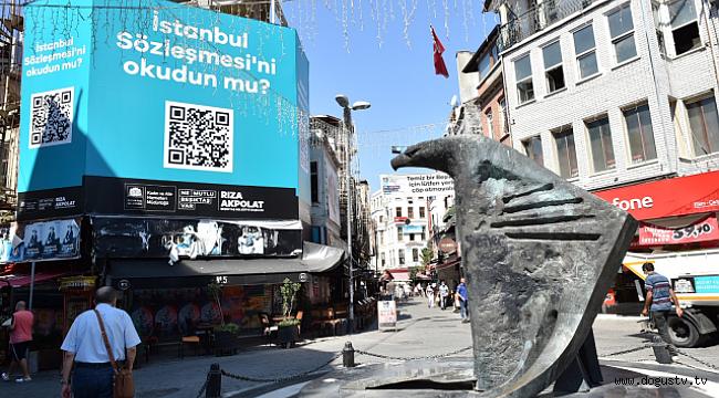 Beşiktaş'tan İstanbul Sözleşmesi Mesajı