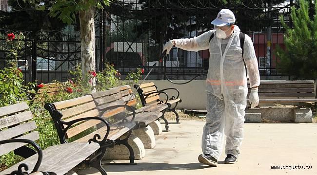 KARTAL'DAKİ İBADETHANELER BAYRAM ÖNCESİ DEZENFEKTE EDİLDİ