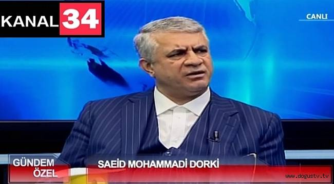 Said Muhammed Durki kanal34'de konuk oluyor