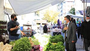 Çekmeköy'de pandemi tedbirleri kapsamında denetimler devam ediyor