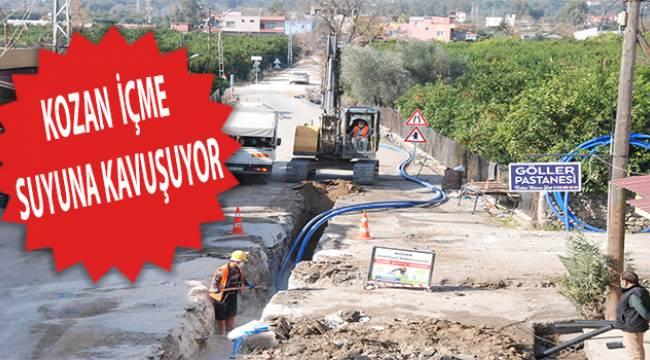 Adana Büyükşehir Belediyesi'nden içme suyu çalışması