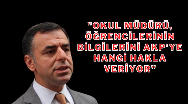 AKP İl Başkanı evlere giderek karne dağıttı
