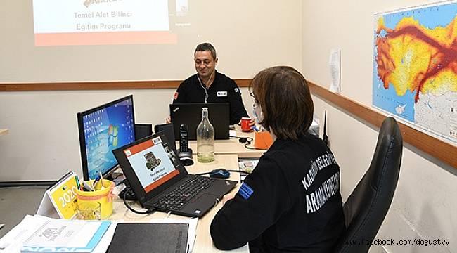 Kadıköy'ün Kahramanlarından Online Afet Eğitimi