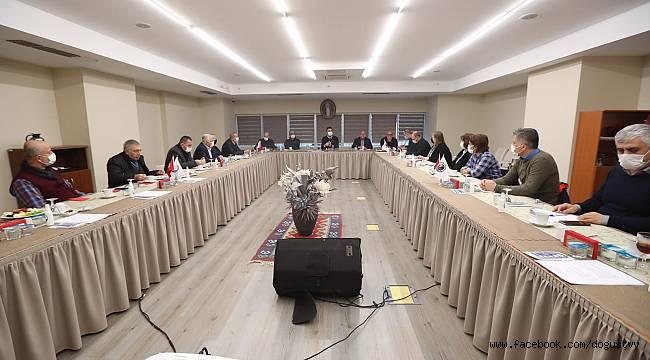 Kartal Belediyesi 2021 Yılının İlk Muhtarlar Toplantısı