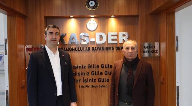Başkan Gökhan Yüksel'den Kastamonulular Derneği'ne Ziyaret