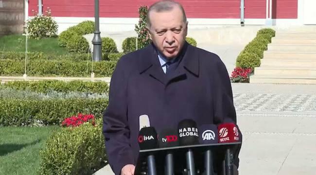 Cumhurbaşkanı Recep Tayyip Erdoğan'dan Kanal İstanbul Açklaması