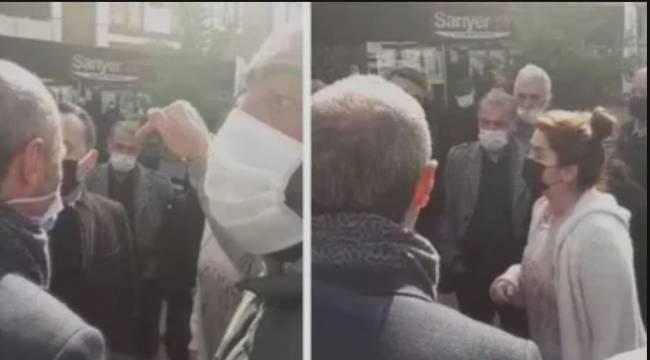 Greve Çıkan İşçiler Belediye Başkanı Ali Kılıç'a Tepki Gösterdi