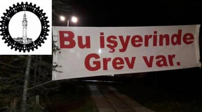 İSİG' Meclisi'nden Grevdeki Maltepe Belediyesi İşçilerine Destek