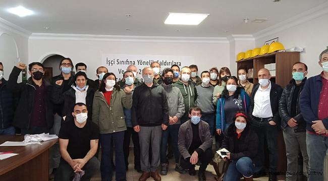 İstanbul İşçi Sağlığı ve İş Güvenliği Meclisi ve Birçok Sendikadan Ortak Çağrı