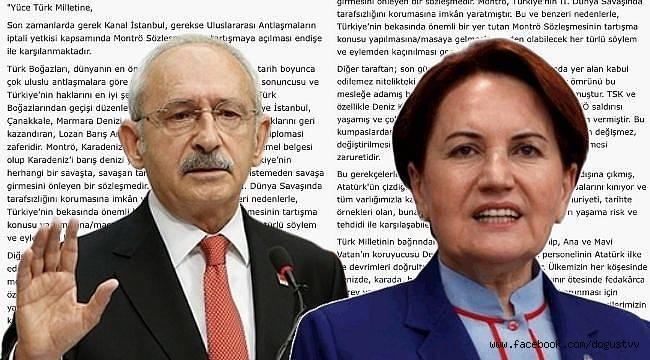 104 Amiralin imzaladığı bildiriye Kemal Kılıçdaroğlu ve Meral Akşener'in cevabı ne oldu?