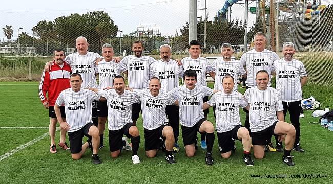 Kartal Belediyesi Veteranları Şampiyonada 2. Oldu