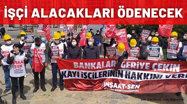 Kayı İşçileri Kartal Anadolu Adliyesi Önünden Seslendi