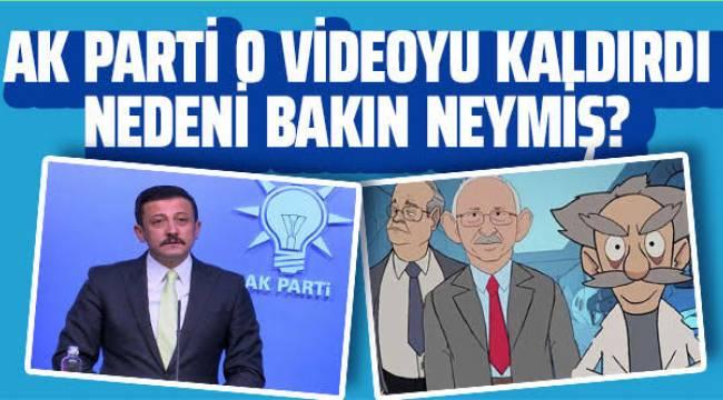 AKP, 'Yalan Üretim Merkezi' videosunu sildi
