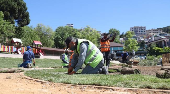 Kartallıların Buluşma Noktası Bayram Demirkol Parkı Yenilenen Yapısı ile Hizmete Açılıyor