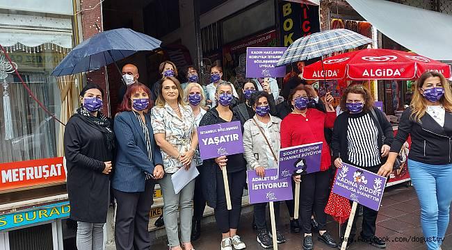 CHP Kadın Kolları bir kez daha haykırdı: İstanbul Sözleşmesi'nden vazgeçmeyeceğiz!
