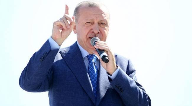 Erdoğan'dan tartışma yaratan açıklama