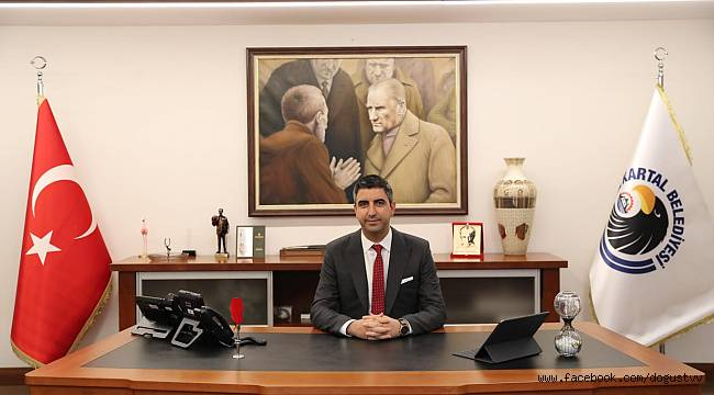 Kartal Belediye Başkanı Gökhan Yüksel'in  30 Ağustos kutlama  Mesajı
