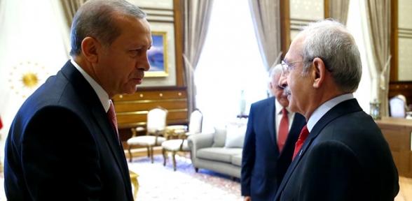 Erdoğan Kılıçdaroğlunu Arayarak Geçmiş Olsun Dedi